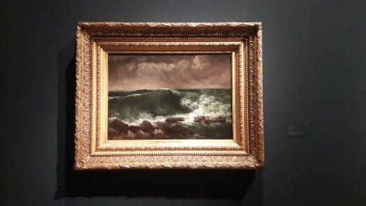 Quadro La mareggiata Courbet