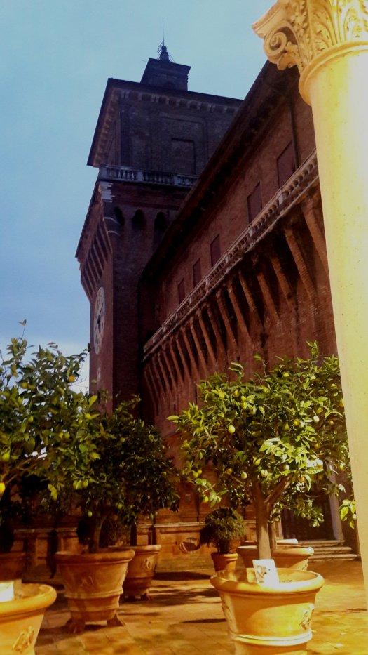 Terrazza del Castello Estense Ferrara