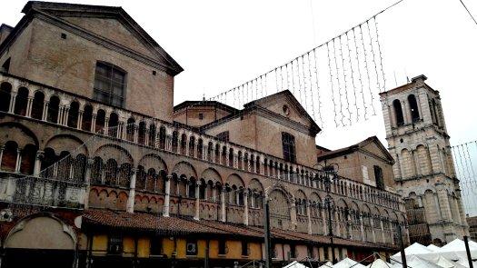 Lato della Cattedrale Ferrara