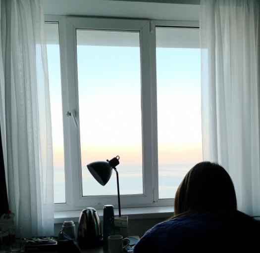 Camera vista mare Azimut hotel Vladivostok
