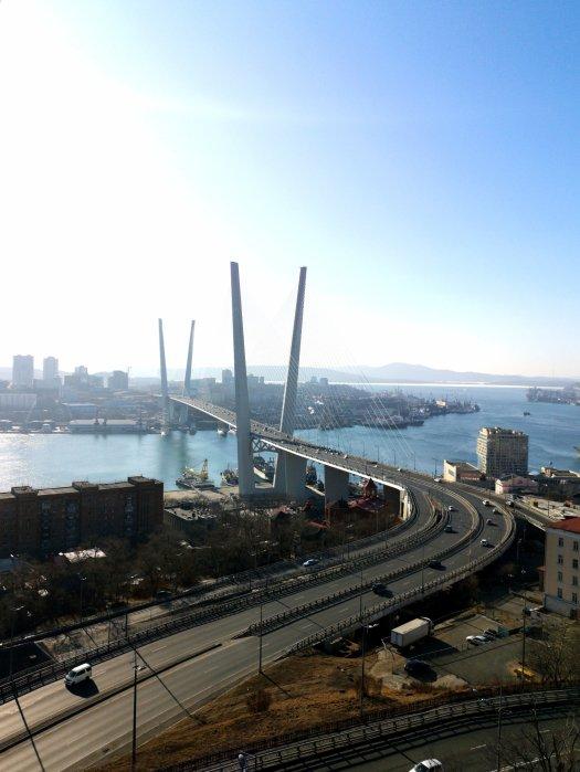 Il ponte d'oro di Vladivostok